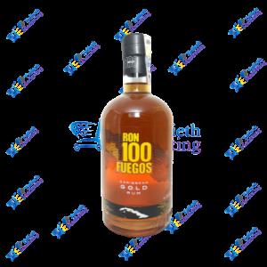 100 Fuegos Ron Botella 750 ml