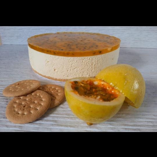 Bella Vanilla Cheesecake de Maracuyá