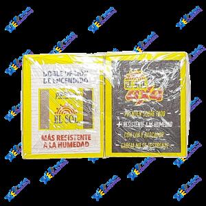El Sol Fósforos Integral Pack x 20 u