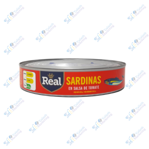 Real Sardina en Salsa de Tomate Ovalada 425 gr