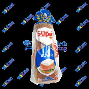 Supan Pan Blanco Sin grasa Trans 525 gr x 20 un