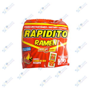 Oriental Rapidito Fideo Instantáneo Res Picante 100 g