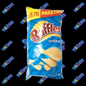 Frito Lay Ruffles Natural Papas Fritas 68 gr