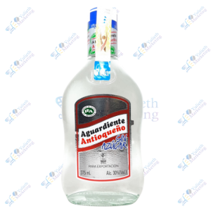 Antioqueño Aguardiente Anisado Sin Azúcar 375 ml