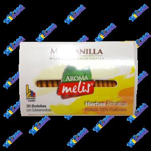 Aroma Melis Te Hierbas Aromáticas Manzanilla Pack 20u 24g