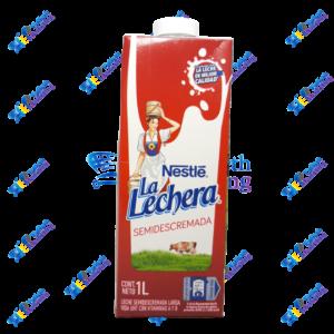 Nestlé La Lechera Leche Semidescremada 1 lt