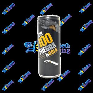 100 Fuegos Lata Ron con Cola 330 ml