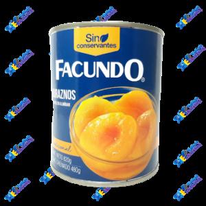 Facundo Duraznos Mitades en Almíbar 820 gr