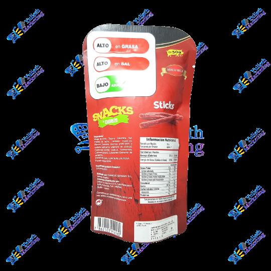 Mallorca Sticks Snacks Chorizo Pack 5-6u 50g